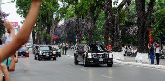 Các tuyến đường bị cấm khi Tổng thống Obama ghé thăm TPHCM