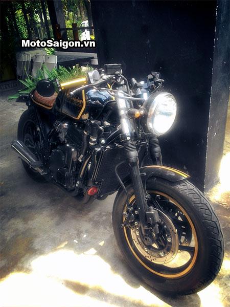 Ngắm Kawasaki GPX750 độ phong cách Cafe Racer cực đẹp 5