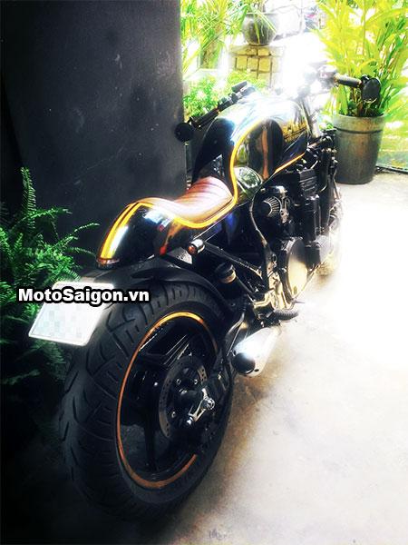Ngắm Kawasaki GPX750 độ phong cách Cafe Racer cực đẹp 6