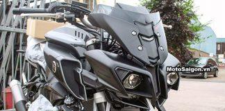 Hình ảnh đập thùng Yamaha MT-10 màu đen