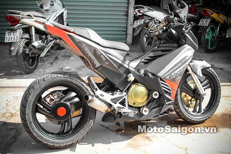 Ngắm Suzuki Bandit 250 độ Turbo và dàn áo Exciter 135 tại Việt Nam 1