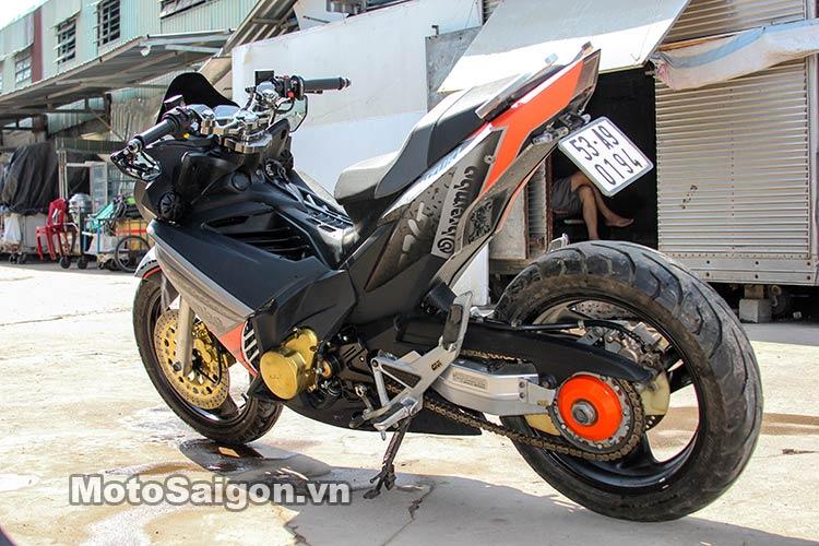 Ngắm Suzuki Bandit 250 độ Turbo và dàn áo Exciter 135 tại Việt Nam 15