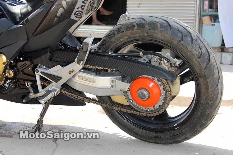 Ngắm Suzuki Bandit 250 độ Turbo và dàn áo Exciter 135 tại Việt Nam 14