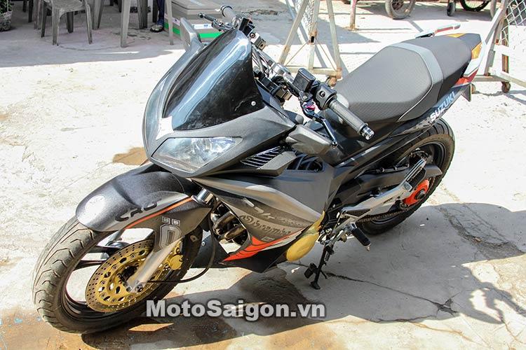 Ngắm Suzuki Bandit 250 độ Turbo và dàn áo Exciter 135 tại Việt Nam 4
