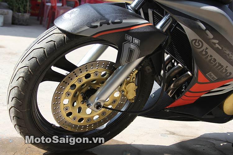 Ngắm Suzuki Bandit 250 độ Turbo và dàn áo Exciter 135 tại Việt Nam 6