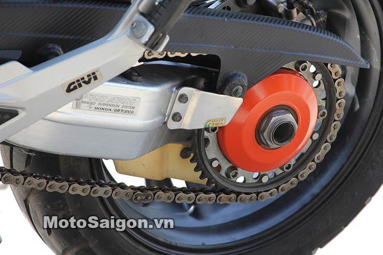 Ngắm Suzuki Bandit 250 độ Turbo và dàn áo Exciter 135 tại Việt Nam 5