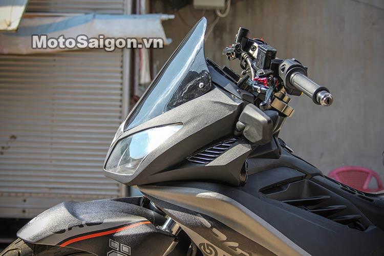 Ngắm Suzuki Bandit 250 độ Turbo và dàn áo Exciter 135 tại Việt Nam 3