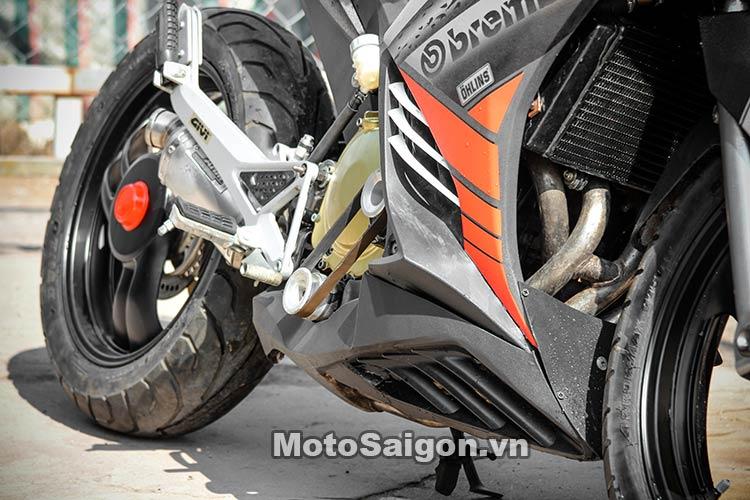 Ngắm Suzuki Bandit 250 độ Turbo và dàn áo Exciter 135 tại Việt Nam 19