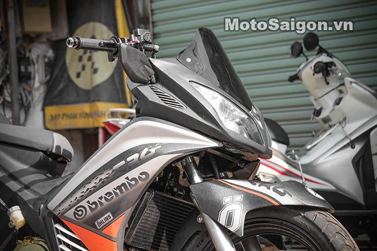 Ngắm Suzuki Bandit 250 độ Turbo và dàn áo Exciter 135 tại Việt Nam 18