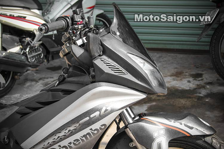 Ngắm Suzuki Bandit 250 độ Turbo và dàn áo Exciter 135 tại Việt Nam 17