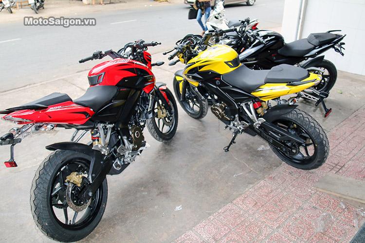 Đánh giá Kawasaki Bajaj Pulsar 200NS: Môtô giá rẻ cho giới trẻ