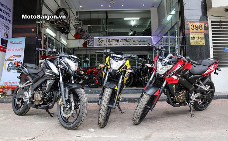 Cận cảnh Kawasaki Bajaj Pulsar 200NS có giá bán 78 triệu đồng