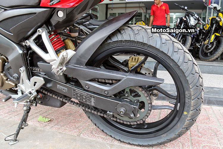 Cận cảnh Kawasaki Bajaj Pulsar 200NS có giá bán 78 triệu đồng 23