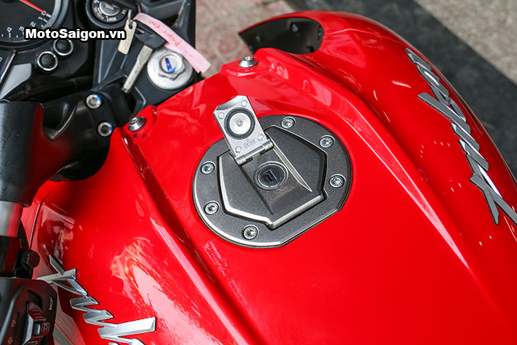 Cận cảnh Kawasaki Bajaj Pulsar 200NS có giá bán 78 triệu đồng 18