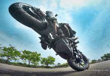 KTM Duke Stunt Riding