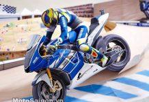 Mô hình giấy xe moto Yamaha R1
