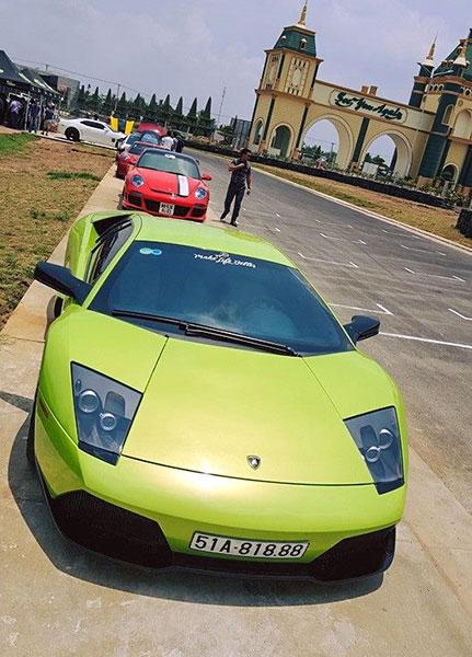 Dàn siêu xe hội tụ tại Ngày Khai trương Trường đua Happy Land