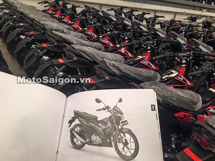 Suzuki Satria 150 2016 về Việt Nam với 2 phiên bản tùy chọn 5