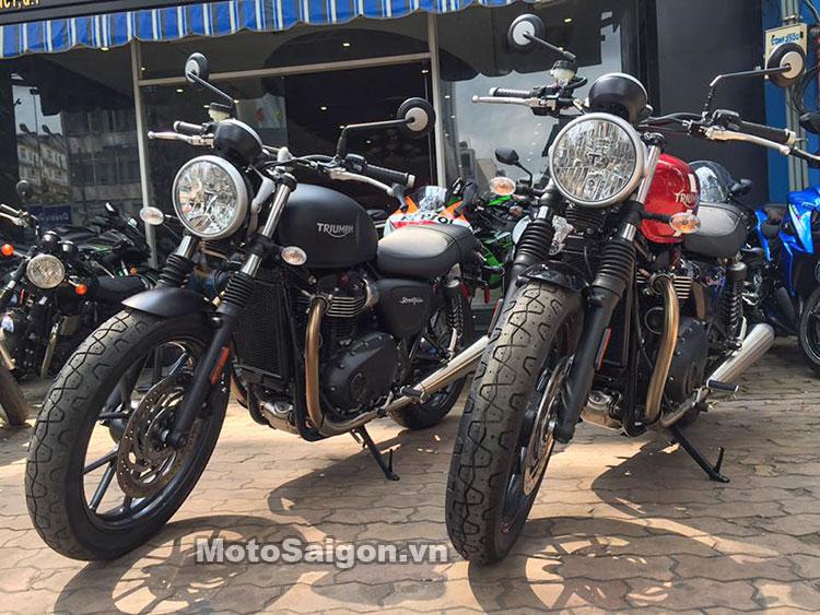 Triumph Street Twin ABS 2016 đầu tiên Việt Nam 5