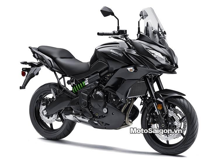 Kawasaki Versys 650 ABS 2016 màu đen có giá bán 279 triệu đồng