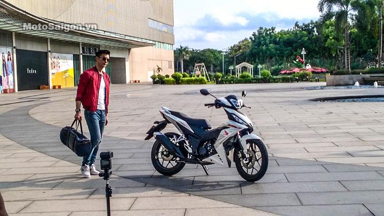 Xe Honda Winner đã xuất hiện trên đường phố Việt Nam 2