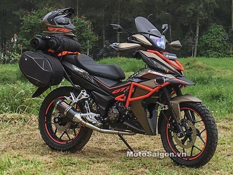 Winner 150 Do Phong Cach Adventure An Tuong