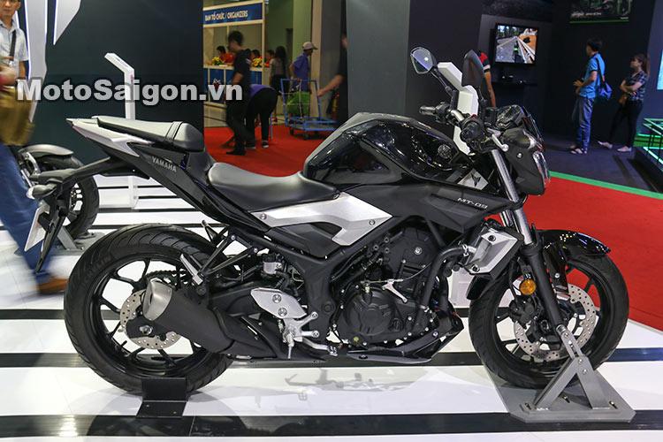 Ngắm Yamaha MT-03 độ đầu đèn & bánh lớn cực chất của biker nước ngoài 2