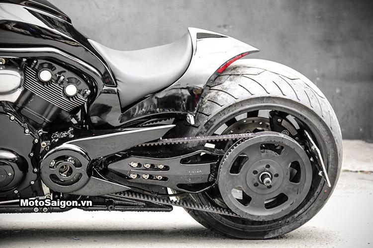 Thần Sấm Harley VRod độ bánh to 360