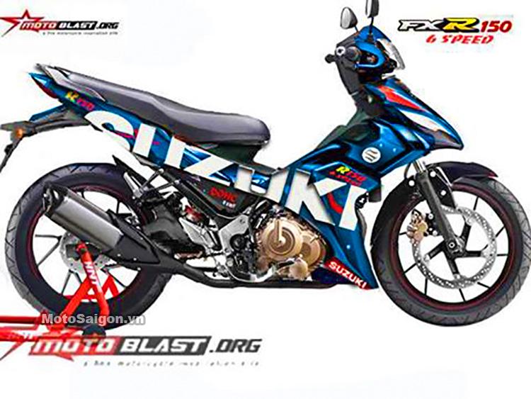 Suzuki FXR150 2016