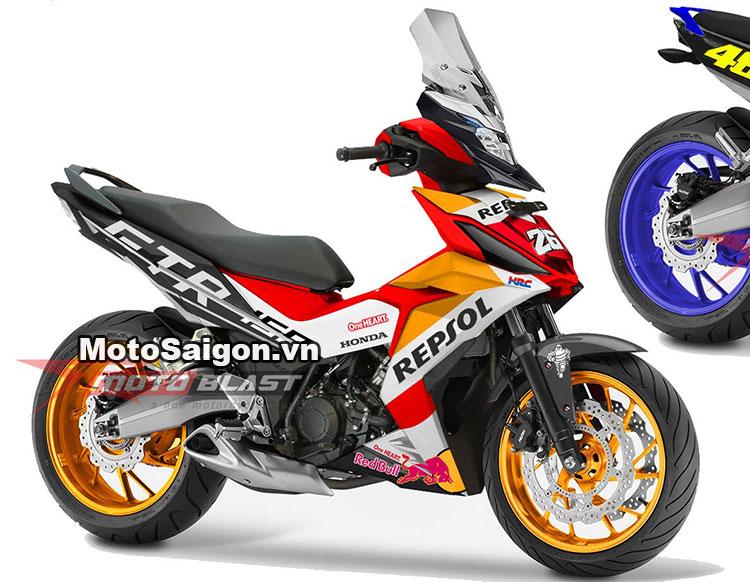 Honda Winner 150 Repsol tại Malaysia với 3 màu tùy chọn 4