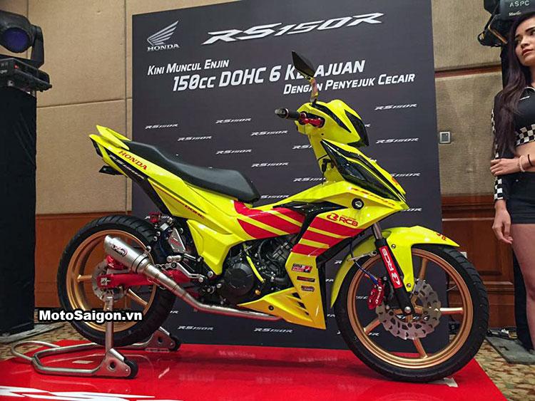Honda Winner 150 độ Racing Boy với sơn vàng nổi bật 1