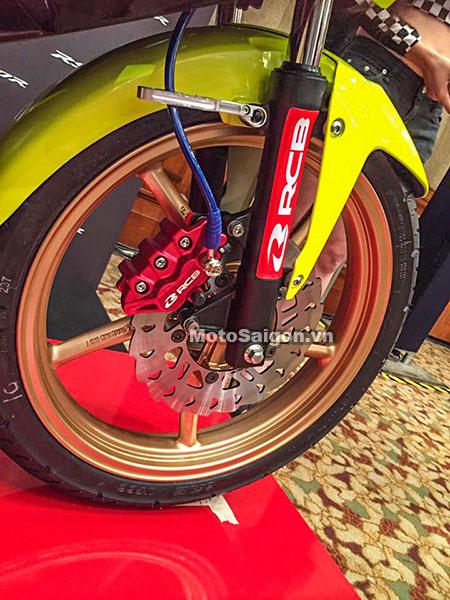 Honda Winner 150 độ Racing Boy với sơn vàng nổi bật 7