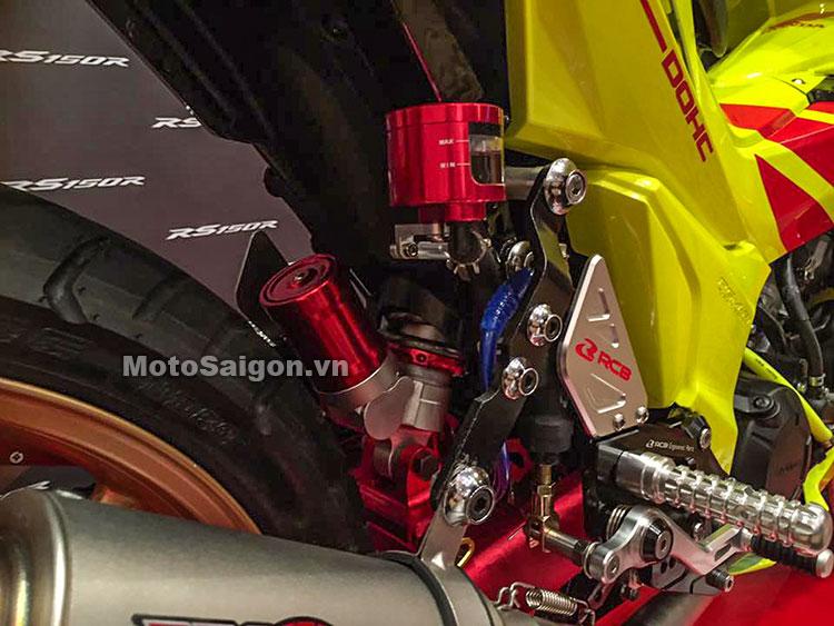 Honda Winner 150 độ Racing Boy với sơn vàng nổi bật 3
