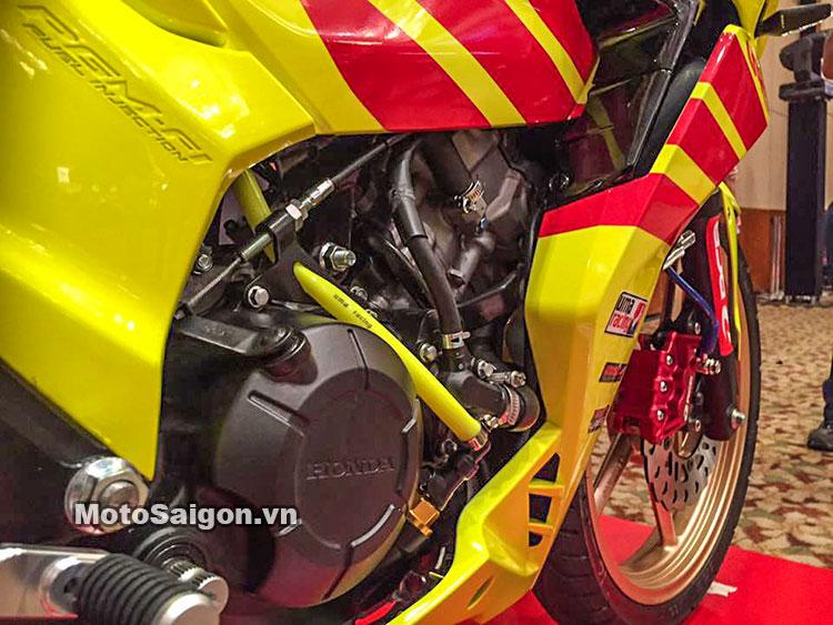 Honda Winner 150 độ Racing Boy với sơn vàng nổi bật 11