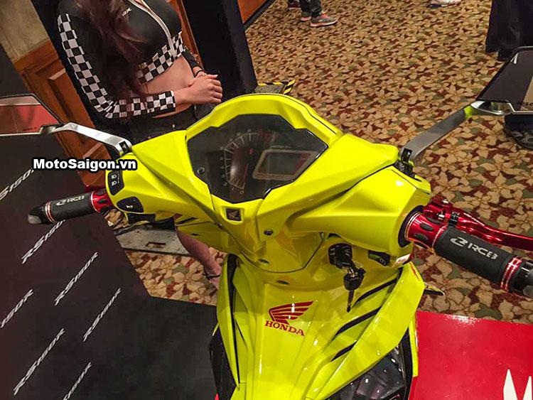 Honda Winner 150 độ Racing Boy với sơn vàng nổi bật 10