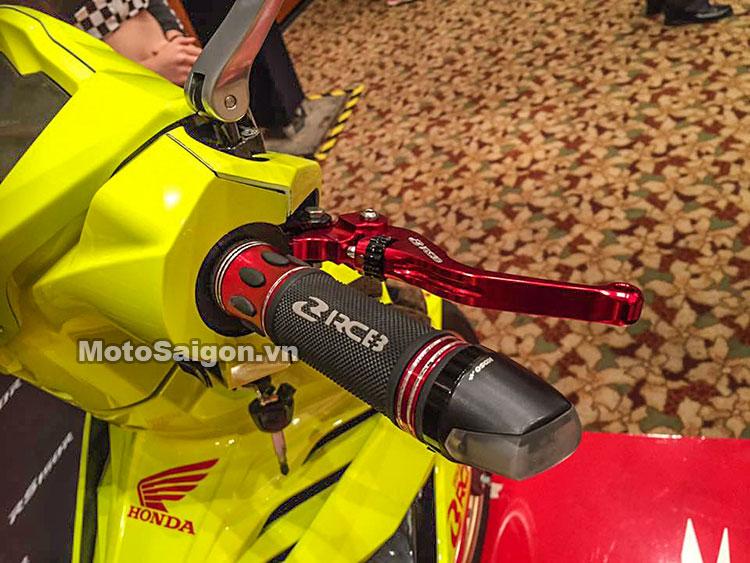 Honda Winner 150 độ Racing Boy với sơn vàng nổi bật 8