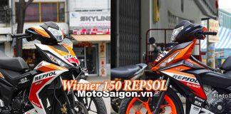2 mẫu thiết kế Decal Tem Repsol dành cho Winner 150