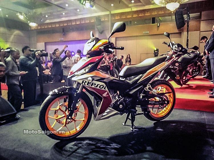 Honda Winner 150 Repsol tại Malaysia với 3 màu tùy chọn 5