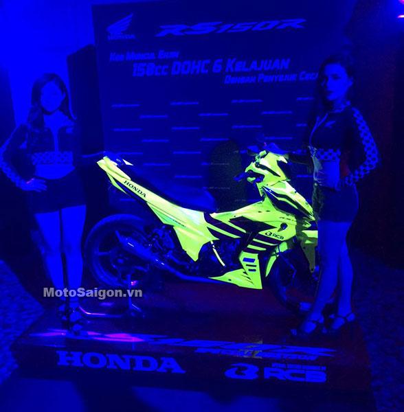 Honda Winner 150 độ Racing Boy với sơn vàng nổi bật 2