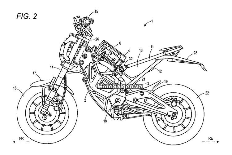 Suzuki Extrigger đối thủ của Honda MSX125 xuất hiện 10