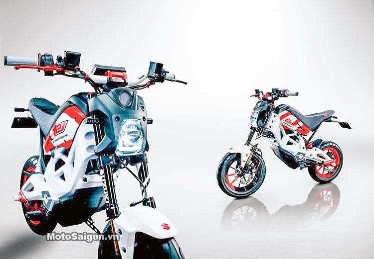 Suzuki Extrigger đối thủ của Honda MSX125 xuất hiện 5