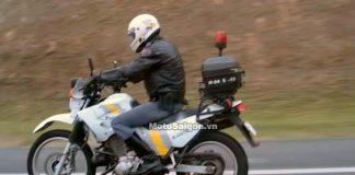 Xe moto của cảnh sát Brazil