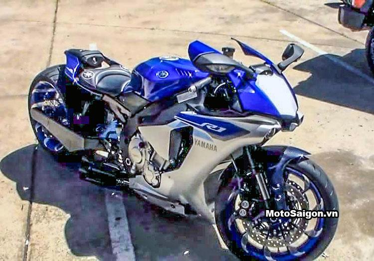 Ngắm Yamaha R1 2016 độ bánh to 360 cực chất 1