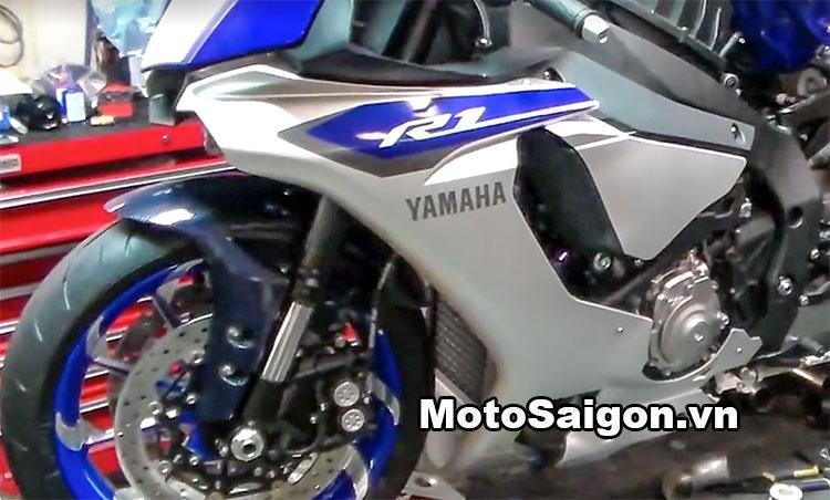 Ngắm Yamaha R1 2016 độ bánh to 360 cực chất 3
