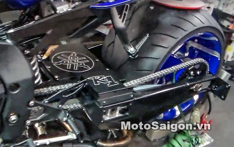 Ngắm Yamaha R1 2016 độ bánh to 360 cực chất 2