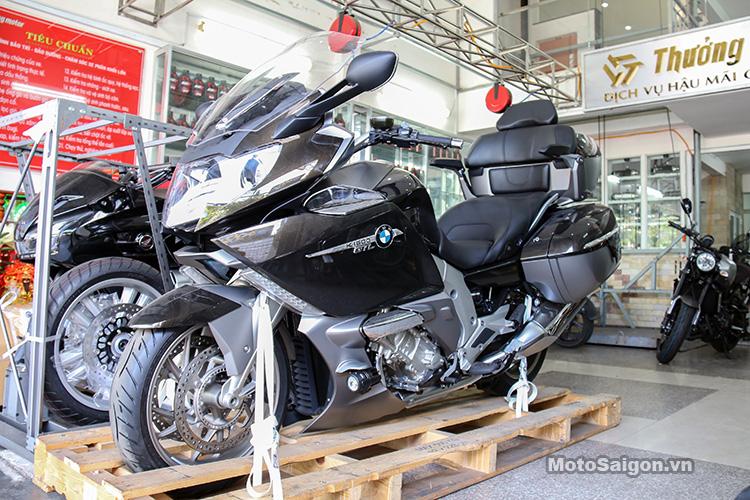 Khởi động và test âm thanh pô zin BMW K1600 GTL Exclusive