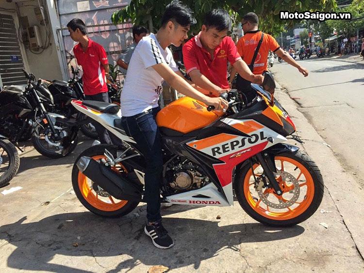 CBR150 2016 Repsol