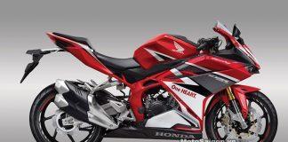 Honda CBR250 2016 màu đỏ racing