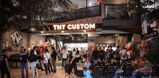 Xưởng độ TNT Custom ngày khai trương