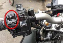 Mức phạt xe moto xe máy khi bật đèn pha chiếu xa trong đô thị